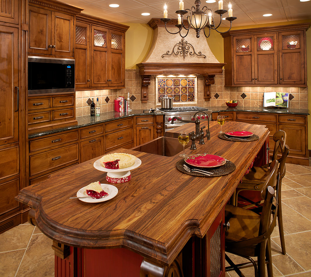 Italian kitchen decorating ideas dream house experience for Italian kitchen design